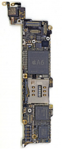 iphone 5 logic board real size