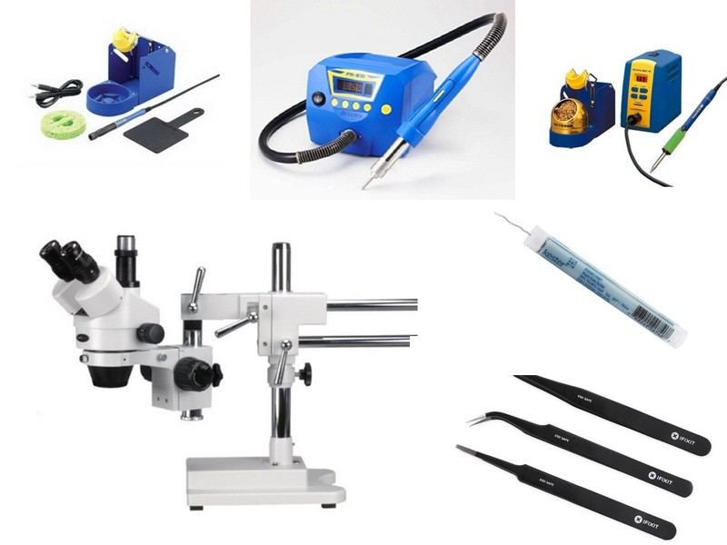 Microsoldering Tools and Equipment